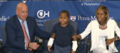 Premiera medicala: Unui copil de 8 ani i-au fost transplantate ambele maini