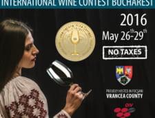 Premiera mondiala la Concursul International de Vinuri Bucuresti
