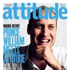 Premiera pentru familia regala britanica: Printul William, pe coperta unei reviste gay