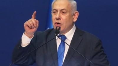 Premierul Beniamin Netanyahu respinge acordul oponentilor sai pentru formarea unui nou guvern si critica participarea araba istorica la coalitie