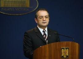 Premierul Boc preia vineri functia de ministru interimar al Muncii