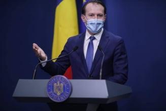 Premierul Florin Citu isi face sambata vaccinul anti-COVID