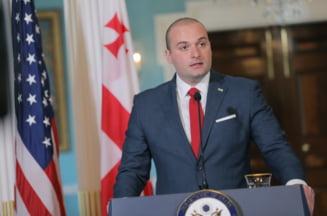 Premierul Georgiei a demisionat din functie, considerand ca a terminat de facut ce si-a propus