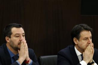 Premierul Italiei si-a anuntat demisia si il acuza pe ministrul de Interne de tradare
