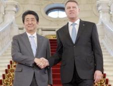 Premierul Japoniei, intalnire cu presedintele Klaus Iohannis la Palatul Cotroceni