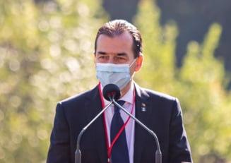 Premierul Ludovic Orban, despre numarul record de infectari cu coronavirus: Privesc cu atentie si cu ingrijorare. Asteptam analiza pe o perioada mai lunga