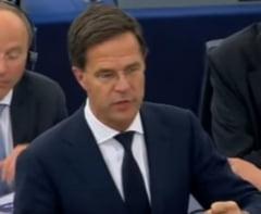 Premierul Olandei: Romania si Bulgaria nu pot fi primite in Schengen pana nu rezolva problema coruptiei