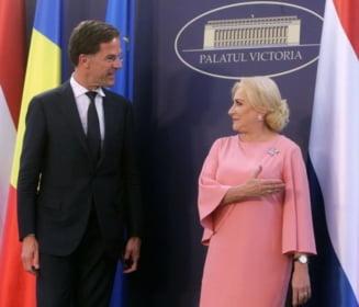 Premierul Olandei, dupa intalnirea cu Dancila: Cred ca Romania va fi tinuta minte pentru multe motive, ca presedinte al UE