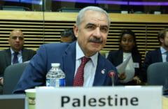 """Premierul Palestinei face apel la liderii de la Bucuresti sa """"lase in urma"""" subiectul mutarii ambasadei la Ierusalim"""