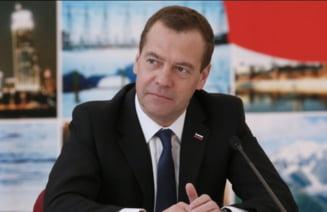 Premierul Rusiei, furibund dupa excluderea de la Cupa Mondiala si Jocurile Olimpice