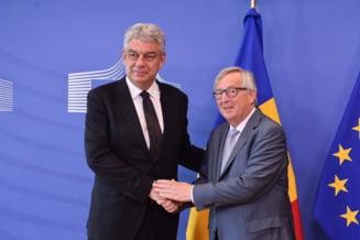Premierul Tudose, ironizat dupa ce a anuntat oficial ca joi va vorbi la telefon cu Juncker