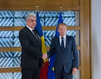 Premierul Tudose a dat asigurari la Bruxelles ca legile din Justitie vor fi modificate transparent