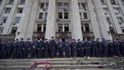 Premierul Ucrainei: Fortele de ordine sunt vinovate pentru masacrul din Odessa
