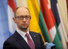 Premierul Ucrainei cere plasarea fortelor armate in stare de alerta