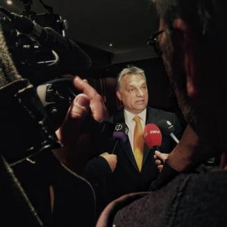 Premierul Ungariei a venit in Romania sa vorbeasca de pericolul care ameninta Europa
