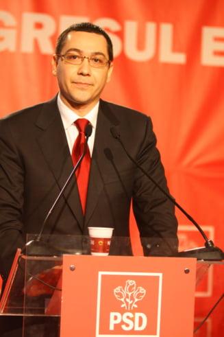 Premierul desemnat Ponta se intalneste cu delegatia FMI, BM si CE