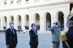 Premierul francez saluta solidaritatea Romaniei dupa ''atacurile defaimatoare'' lansate de Erdogan impotriva lui Macron