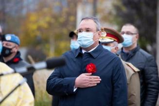 Premierul interimar Nicolae Ciuca si ministrul Sanatatii Nelu Tataru, intalnire cu Klaus Iohannis