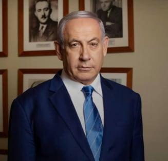 Premierul israelian Benjamin Netanyahu, inculpat pentru coruptie, frauda si abuz de incredere