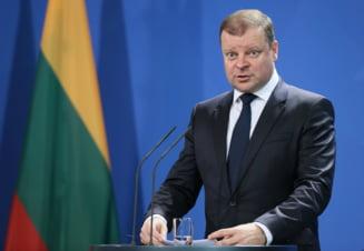 Premierul lituanian a anuntat ca are cancer, dar va continua sa lucreze