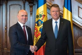 Premierul moldovean, la Cotroceni: Poate este guvernul ultimei sanse pentru clasa politica din Moldova