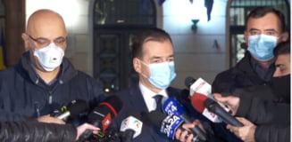 Premierul si sefii MAI sugereaza ca incendiul de la Neamt a fost cauzat de recentele lucrari de extindere a sectiei ATI a spitalului
