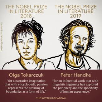 Premiul Nobel pentru Literatura, acordat si pentru 2018 si pentru 2019, dupa scandalul sexual