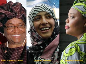 Premiul Nobel pentru Pace, castigat de trei femei - afla povestile lor