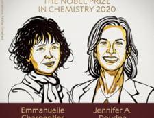 """Premiul Nobel pentru chimie a fost acordat cercetatoarelor care au descoperit """"foarfeca genetica"""", un instrument pentru editarea ADN-ului"""