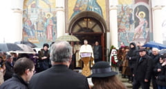 Preoteasa Elena Iancu a fost condusa pe ultimul drum
