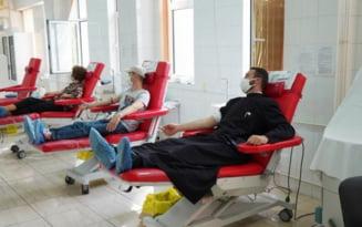Preotii si credinciosii din Eparhia Dunarii de Jos continua mobilizarea pentru donarea de sange