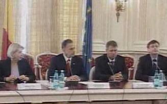 Presa a fost data afara de la intalnirea liderilor Opozitiei cu Johannis