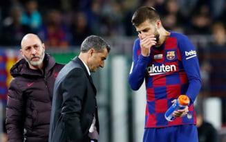 Presa catalana anunta ca antrenorul Barcelonei a fost dat afara