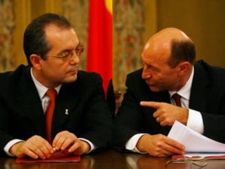 Presa de azi: Basescu, suparat pe Boc si pe mass-media