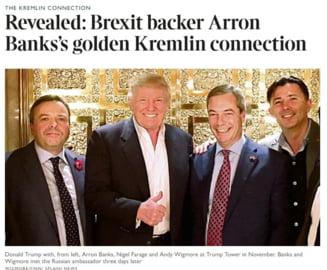 Presa din Marea Britanie a publicat mai multe e-mailuri din care reiese ca sustinatori ai campaniei pro-Brexit ar fi avut legaturi cu Rusia