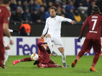 Presa din Spania reactioneaza dur dupa returul dintre Sevilla si CFR Cluj