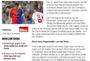 "Presa elvetiana, despre infrangerea cu CFR Cluj: ""Basel, in stare de soc!"""