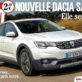 Presa franceza publica prima imagine cu noua Dacia Sandero: Va fi starul anului 2019 (Foto)