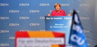 Presa germana, sub socul alegerilor legislative: O palma pentru Merkel, deruta pentru Schulz