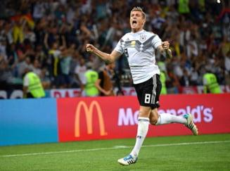 Presa germana este la picioarele lui Toni Kroos dupa eurogolul marcat cu Suedia in minutul 95 la Cupa Mondiala