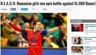 Presa internationala, despre calificarea magnifica a Romaniei in semifinalele Campionatului Mondial de handbal