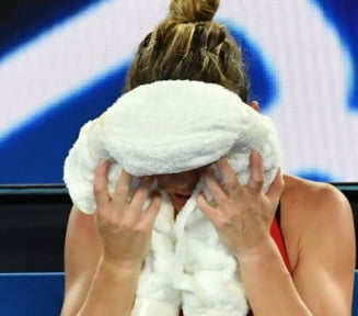 Presa internationala, despre finala pierduta de Simona Halep la Australian Open