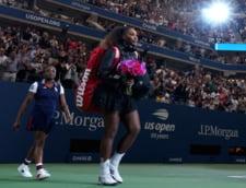 Presa internationala, despre incidentele provocate de Serena Williams in finala de la US Open 2018
