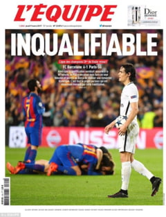 Presa internationala, despre revenirea fantastica a Barcelonei in Liga Campionilor