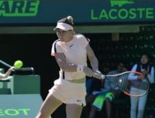 Presa internationala, despre victoria grea obtinuta de Simona Halep la Miami