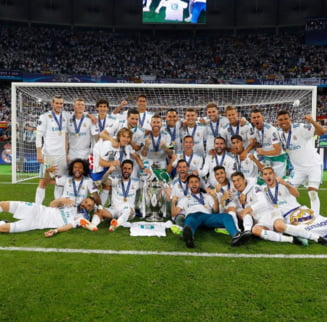 Presa internationala elogiaza al treilea succes la rand bifat de Real Madrid in Champions League