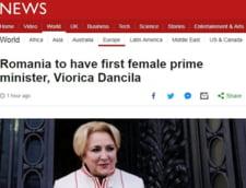 Presa internationala scrie de primul premier-femeie al Romaniei: A sustinut cu vehementa modificarea Legilor Justitiei