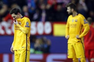 Presa spaniola, despre eliminarea Barcelonei din Liga Campionilor