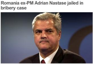 Presa straina, despre condamnarea lui Nastase: Spera sa revina pe scena politica la alegerile din 2014 (Video)