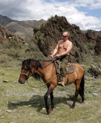 Presa straina il ironizeaza pe Putin, idolul comunitatii gay (Galerie foto)